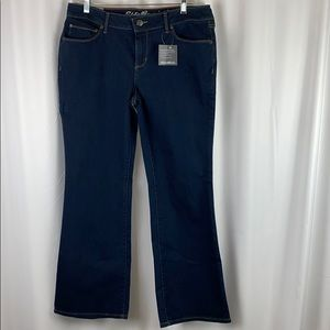 New With Tags Women's Eddie Bauer Size P12 Jeans